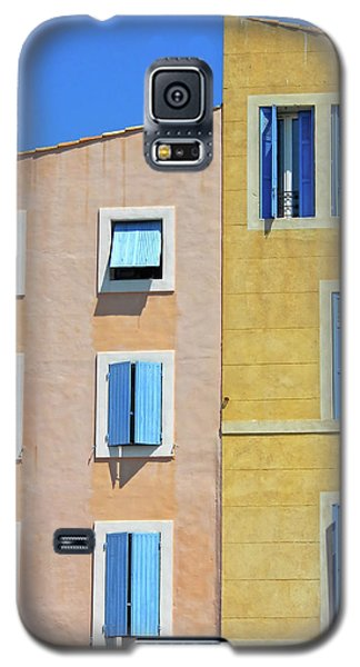 Galaxy S5 Case featuring the photograph Windows Martigues Provence France by Dave Mills