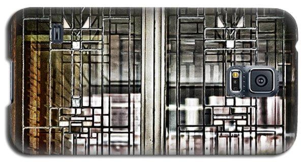 Windows Of A Prairie House  Galaxy S5 Case