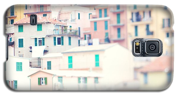 Windows Of Cinque Terre Italy Galaxy S5 Case by Kim Fearheiley