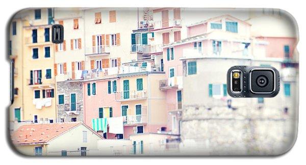 Windows Of Manarola Cinque Terre Italy Galaxy S5 Case