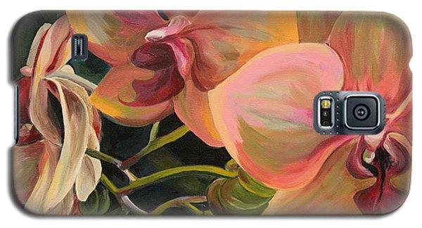 Windowsill Orchids Galaxy S5 Case