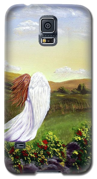 Windswept Angel Galaxy S5 Case