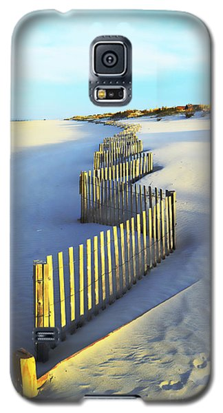 Windswept At Sunset - Jersey Shore Galaxy S5 Case