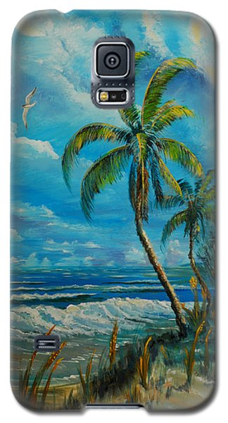 Windswept Beach Galaxy S5 Case
