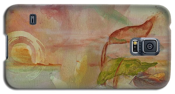 Galaxy S5 Case featuring the painting Windswept by Robin Maria Pedrero