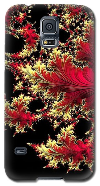 Galaxy S5 Case featuring the digital art Windswept by Susan Maxwell Schmidt