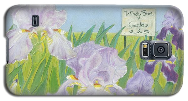 Galaxy S5 Case featuring the painting Windy Brae Gardens by Arlene Crafton