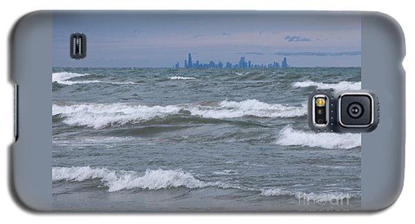 Windy City Skyline Galaxy S5 Case by Ann Horn