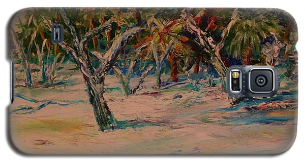 Windy Day At Botany Island Galaxy S5 Case