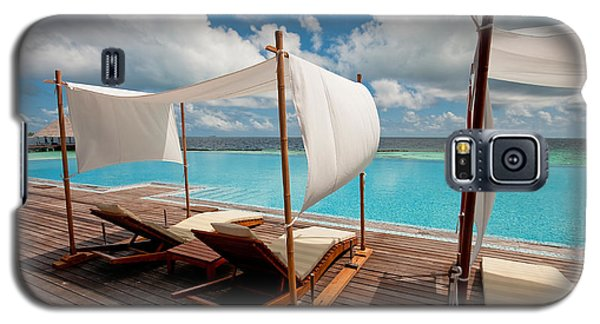 Windy Day At Maldives Galaxy S5 Case