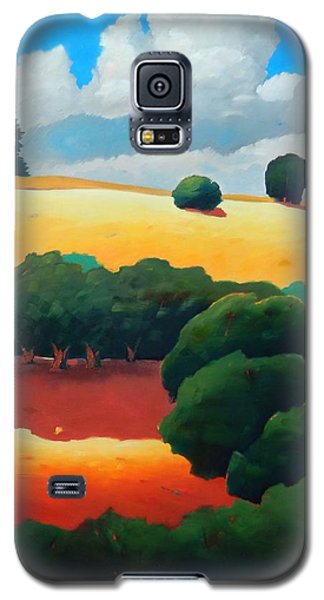 Windy Hill Trip Panel 3 Galaxy S5 Case