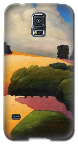 Windy Hill Triptych Revisit Panel Three Galaxy S5 Case