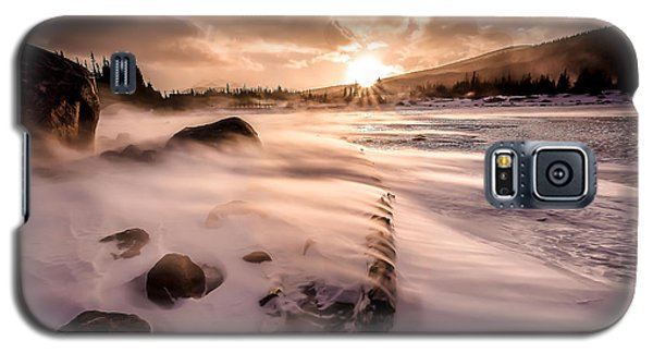 Windy Morning Galaxy S5 Case by Steven Reed