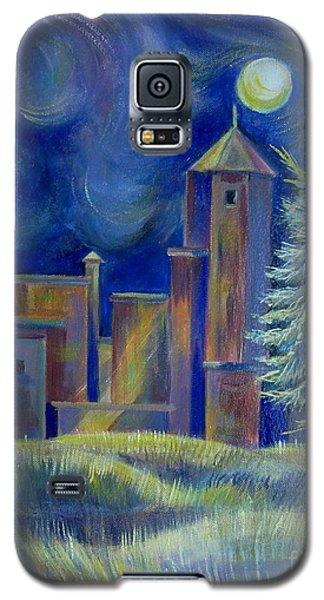 Windy Night In Midnapore Galaxy S5 Case by Anna  Duyunova