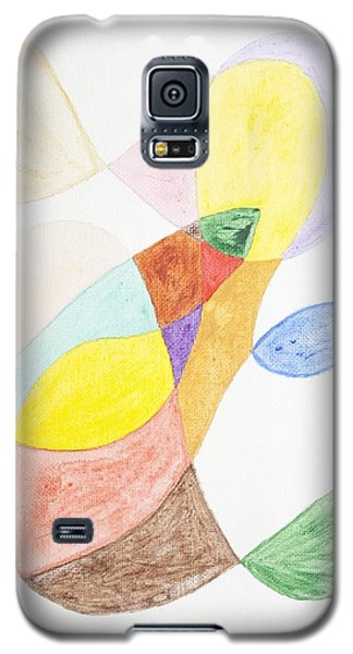 Galaxy S5 Case featuring the painting Windy  by Stormm Bradshaw