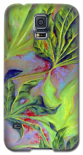 Galaxy S5 Case featuring the pastel Windy by Susan Will