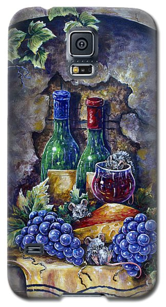 Wine And Cheese Social Galaxy S5 Case