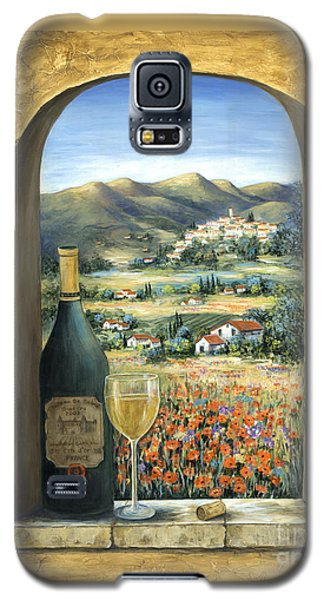 Wine Galaxy S5 Case - Wine And Poppies by Marilyn Dunlap