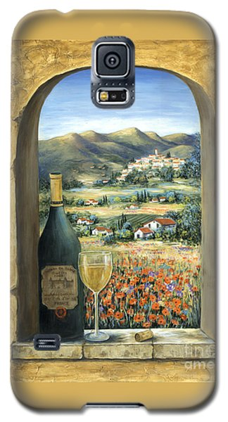 Wine And Poppies Galaxy S5 Case by Marilyn Dunlap