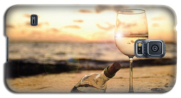 Sunset Galaxy S5 Case - Wine And Sunset by Jon Neidert