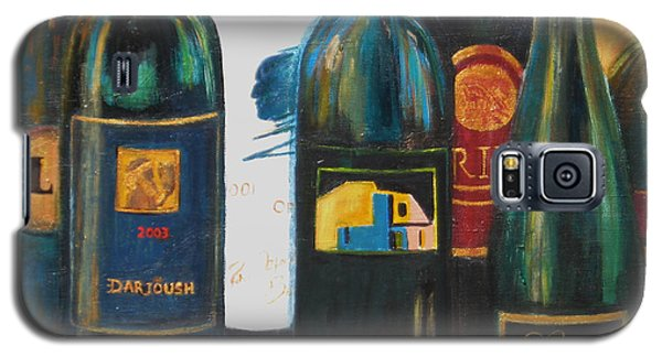 Galaxy S5 Case featuring the painting Wine Bar by Sheri  Chakamian