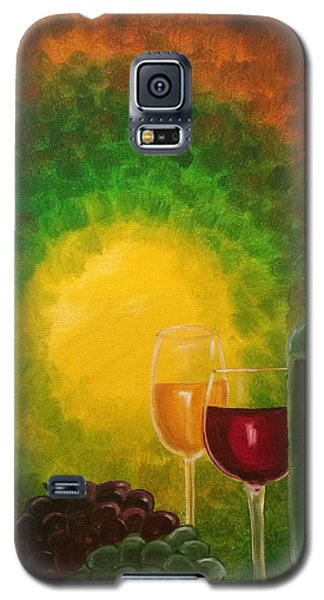 Galaxy S5 Case featuring the painting Wine by Brindha Naveen