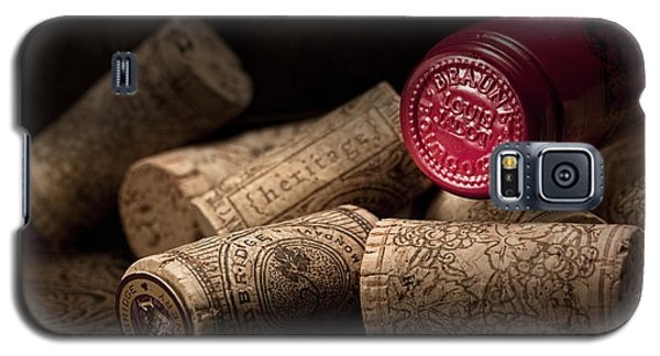 Wine Corks Still Life Iv Galaxy S5 Case by Tom Mc Nemar