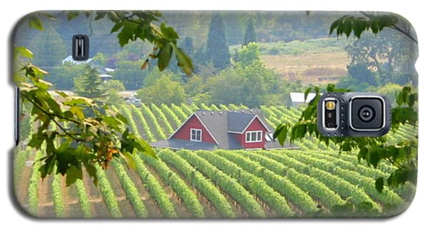 Galaxy S5 Case featuring the photograph Wine Country by Debra Kaye McKrill