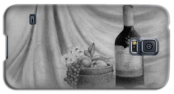 Galaxy S5 Case featuring the drawing Wine by Jim Hubbard