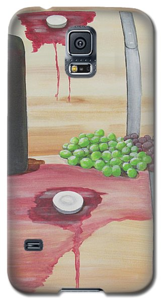 Wine N Grapes Galaxy S5 Case