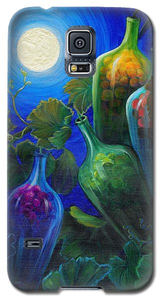 Galaxy S5 Case featuring the painting Wine On The Vine by Sandi Whetzel