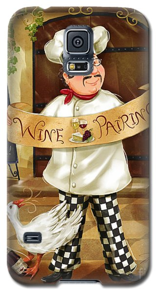 Wine Pairing Chef Galaxy S5 Case