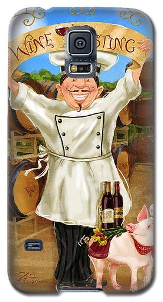 Wine Tasting Chef Galaxy S5 Case