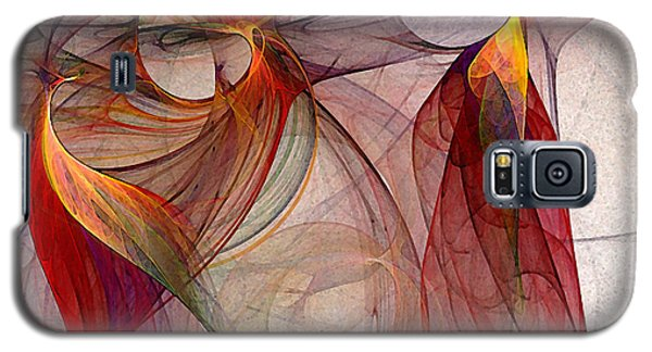 Winged-abstract Art Galaxy S5 Case