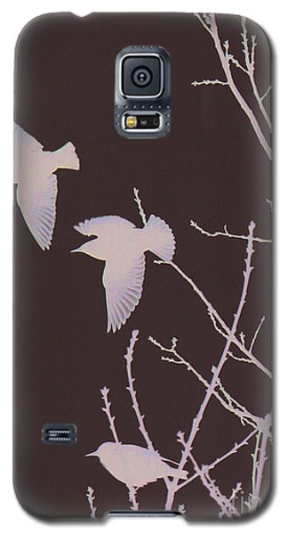 Galaxy S5 Case featuring the photograph Winged Ones by Jeanette French