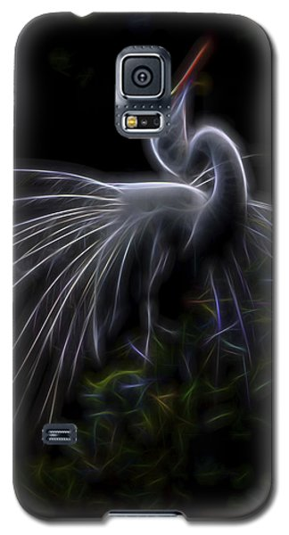 Galaxy S5 Case featuring the digital art Winged Romance 2 by William Horden
