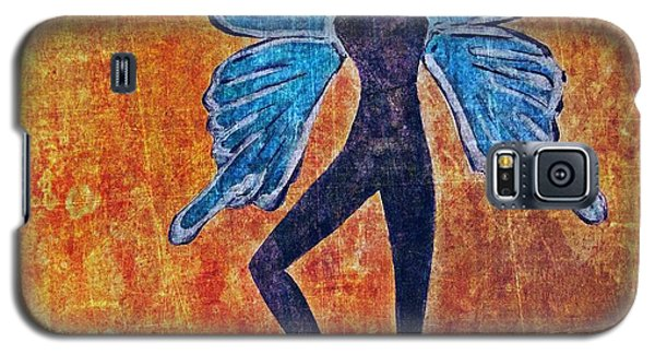 Galaxy S5 Case featuring the digital art Wings 16 by Maria Huntley