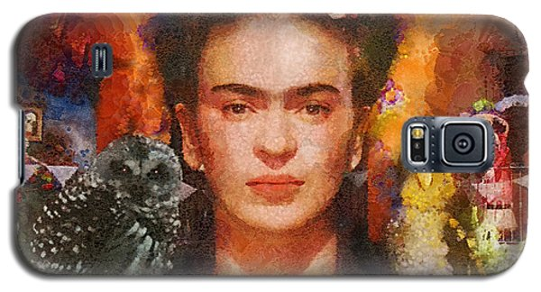 Wings Of Frida Galaxy S5 Case by Mo T