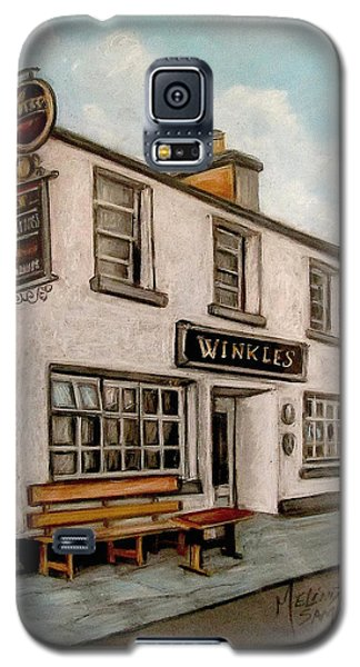 Winkles Pub Kinvera Ireland Galaxy S5 Case by Melinda Saminski