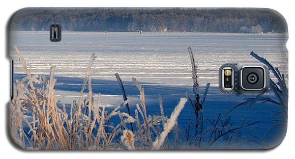 Winnisquam Winter Galaxy S5 Case by Mim White