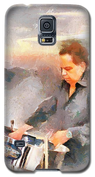 Winston And His Pan Galaxy S5 Case by Wayne Pascall
