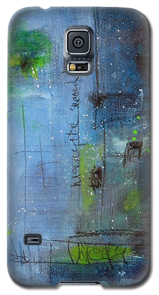 Galaxy S5 Case featuring the painting Winter 2 by Nicole Nadeau