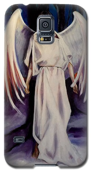Winter Angel Galaxy S5 Case by Irena Mohr
