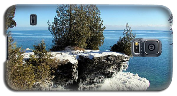 Winter At Cave Point Galaxy S5 Case