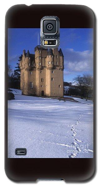 Winter At Craigievar Castle - Aberdeenshire Galaxy S5 Case