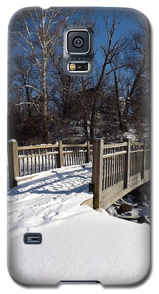 Winter At Creekside Galaxy S5 Case by Sara  Raber