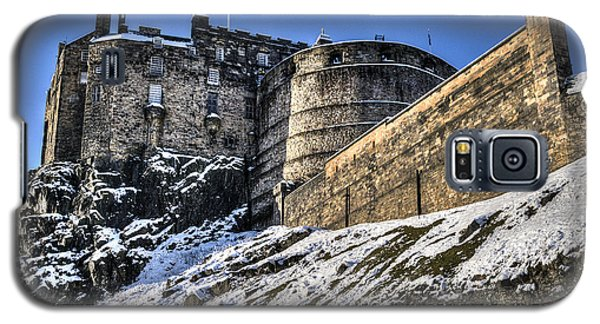 Winter At Edinburgh Castle Galaxy S5 Case