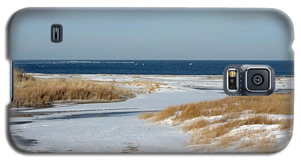 Winter At Hereford Inlet Galaxy S5 Case by Greg Graham