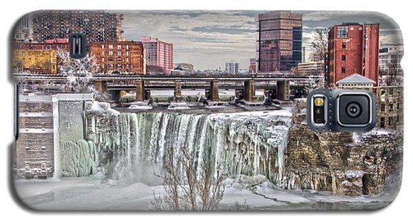 Winter At High Falls Galaxy S5 Case