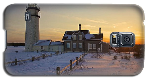 Winter At Highland Lighthouse Galaxy S5 Case